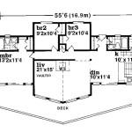 Planos de casa moderna de un solo nivel,1
