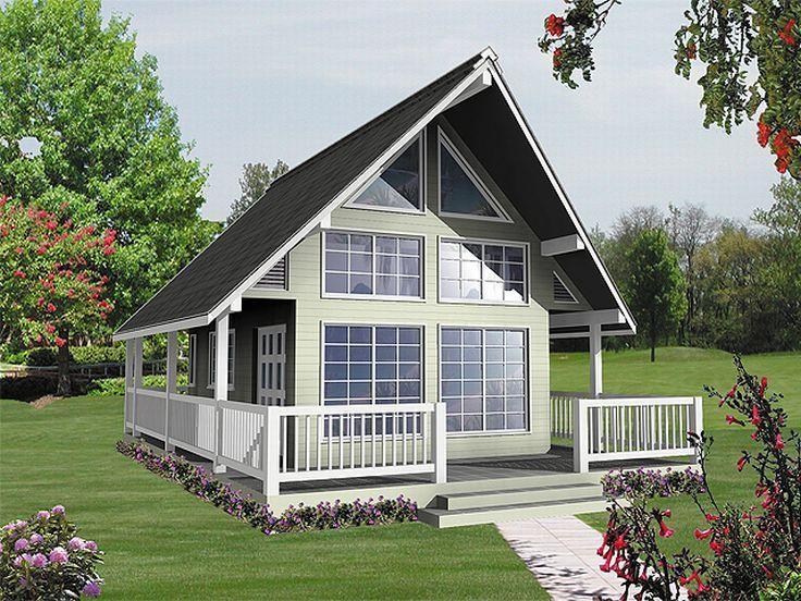Planos de chalet de un solo nivel un dormitorio un ba o for Planos de chalets