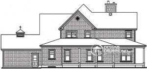 Casa de dos pisos dibujo