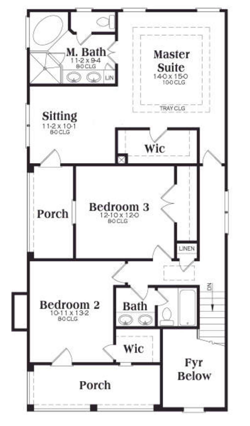 Planos de casa de dos pisos tres ba os tres dormitorios for Planos de casas 200m2