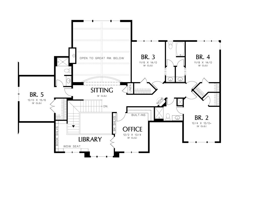 Planos de casa de dos pisos cinco dormitorios cinco for Habitaciones 3d gratis